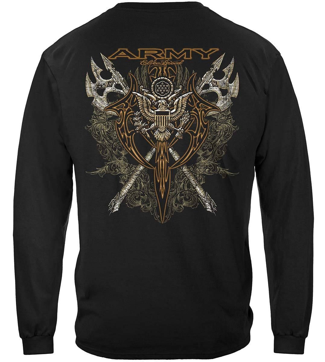 Army Axes Gold Tribal Premium Long Sleeves