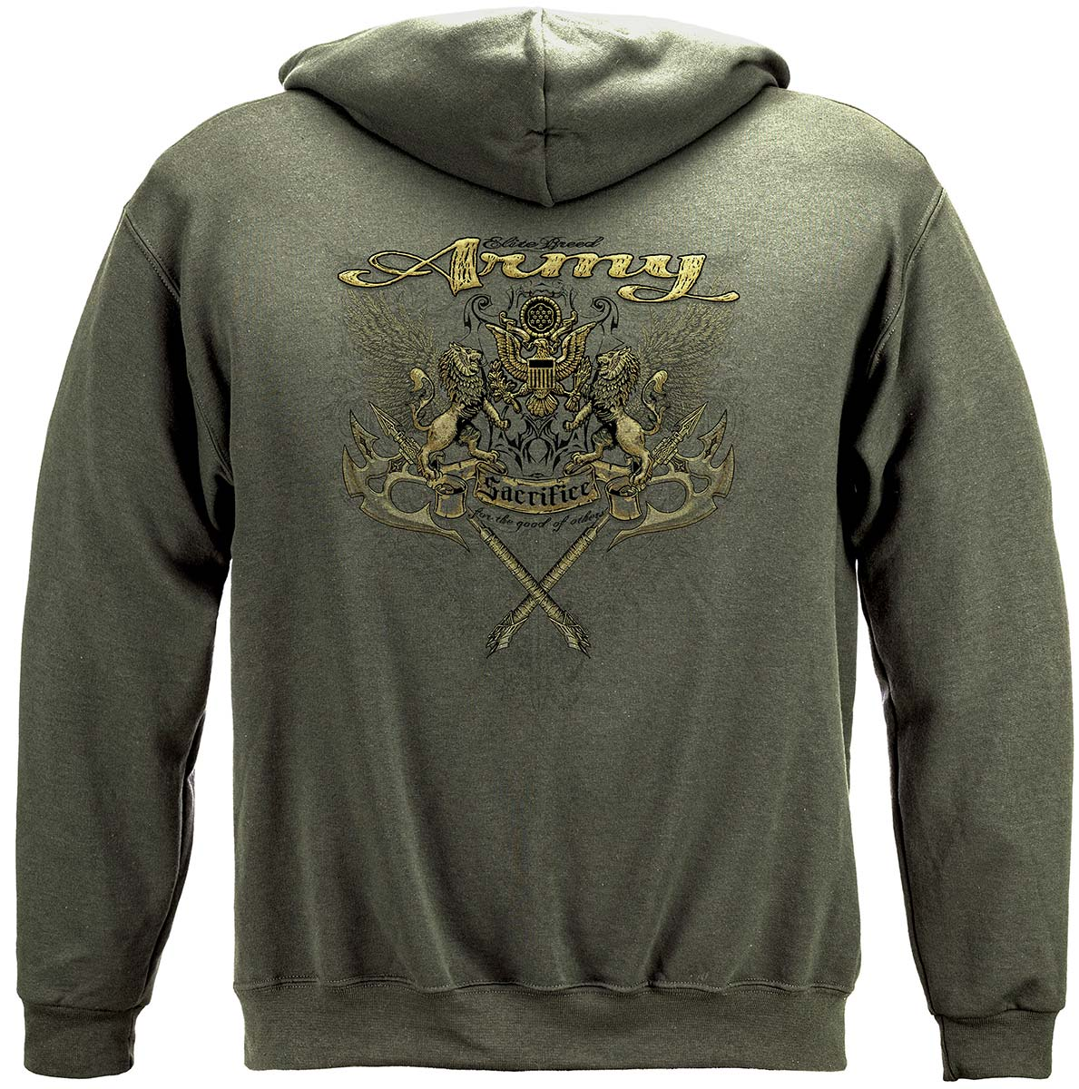 Army Lions Elite Breed Premium Hooded Sweat Shirt