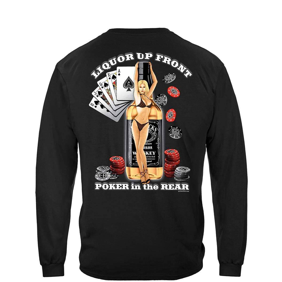 Liquor Up Front Premium T-Shirt