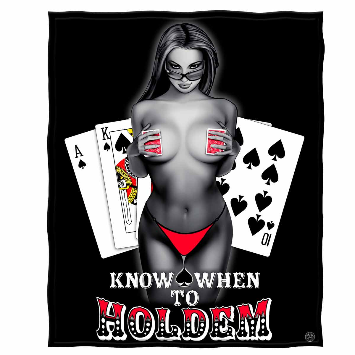 Know When To Holdem Premium Blanket