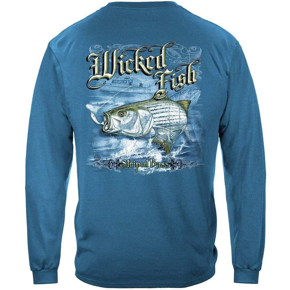 Striped Bass Premium Long Sleeves