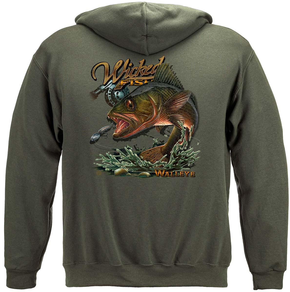 Wicked Fish Walleye Premium Long Sleeves