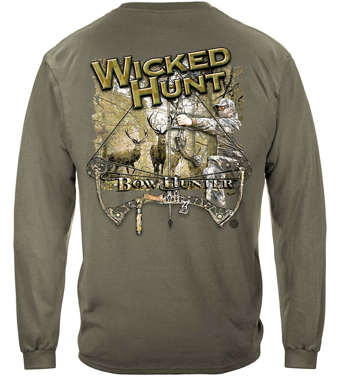 Wicked Hunt Bow Hunting Premium Long Sleeves