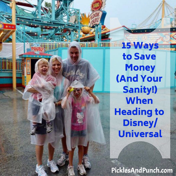 15 Ways to Save Money (& Your Sanity) When Visiting Disney/Universal Theme Parks