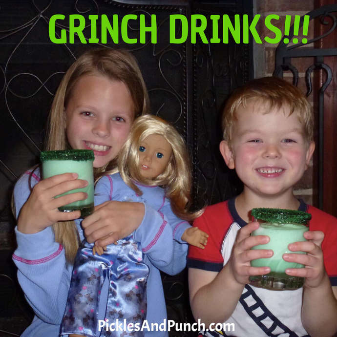 That One Time We Made Grinch Drinks....