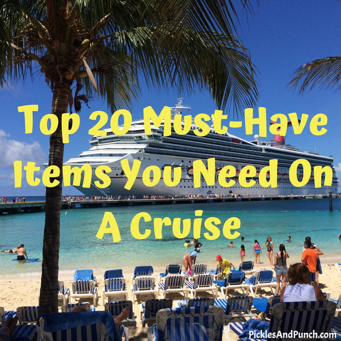 Top 20 Must-Haves When Going On A Cruise