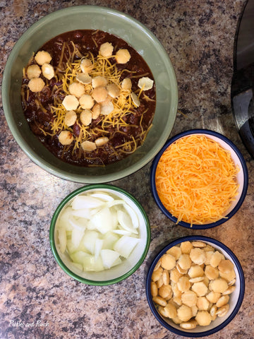 Favorite Halloween and SuperBowl Super Bowl Chili Dinner Meal Snack Football Food 4
