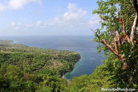 sandals grande st. lucian sgsl #stlouistostlucia 1/4 way point on hike gros piton