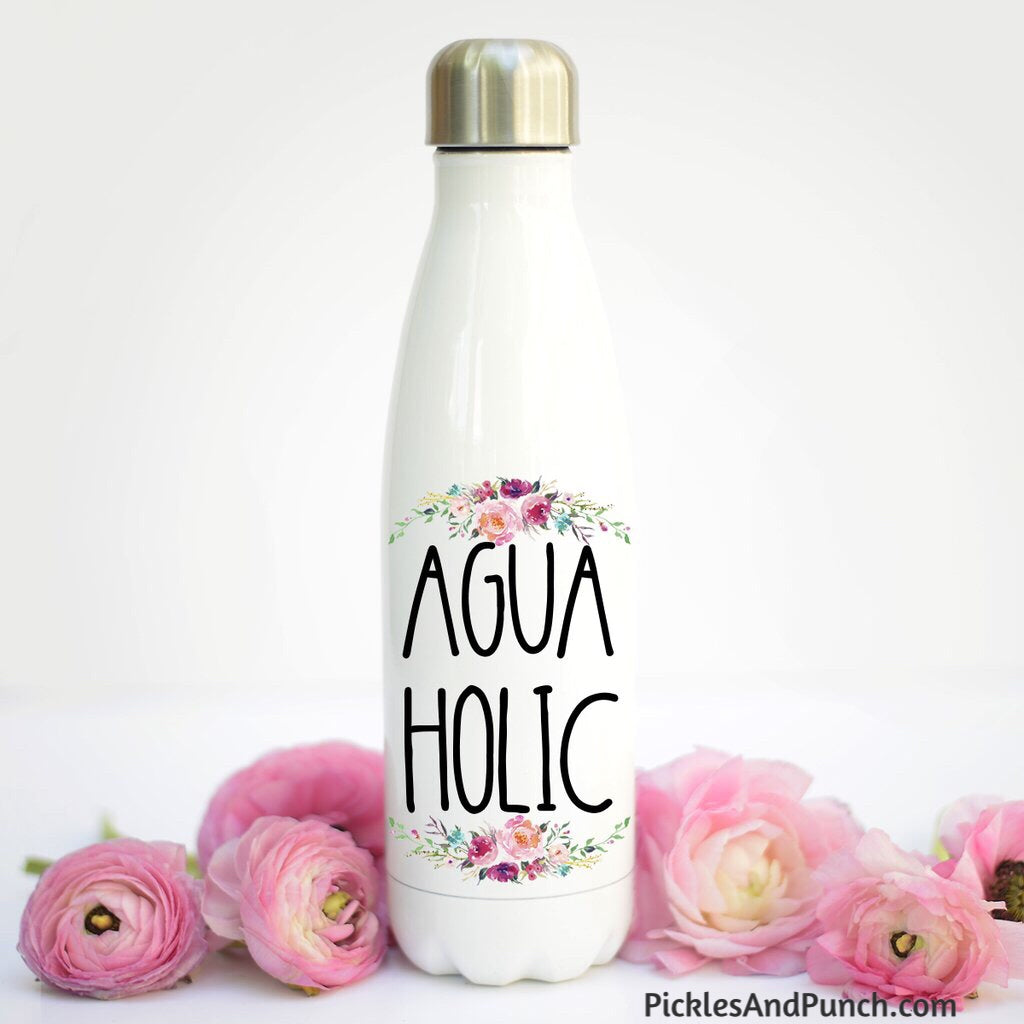 Water Bottle - Agua Holic