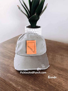Mama State Outline Baseball Hat (Pick Your State)
