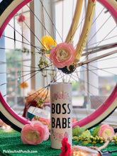 Load image into Gallery viewer, Tall Travel Mug - Boss Babe