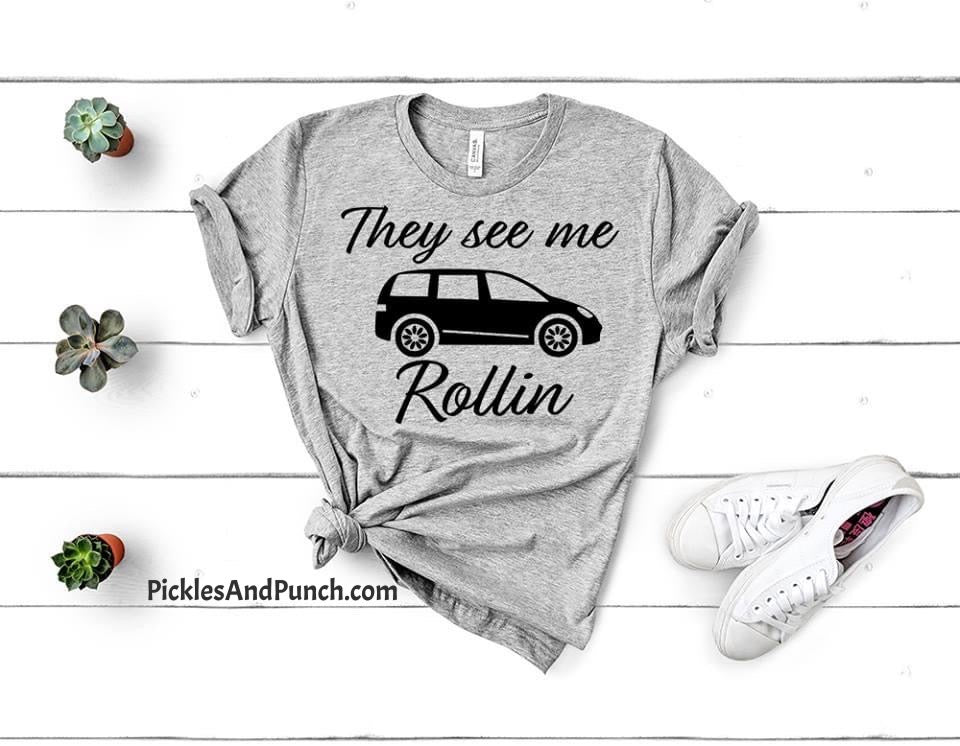 They See Me Rollin' Mini Van Tee - PREORDER
