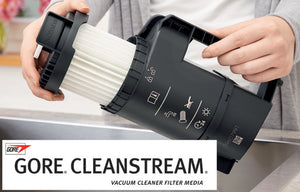 Self-cleaning Gore® CleanStream® fine dust filter