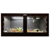 "48""x24""x24"" / 4'x2'x2' Premium PVC Reptile Enclosure with Swing Open Doors"