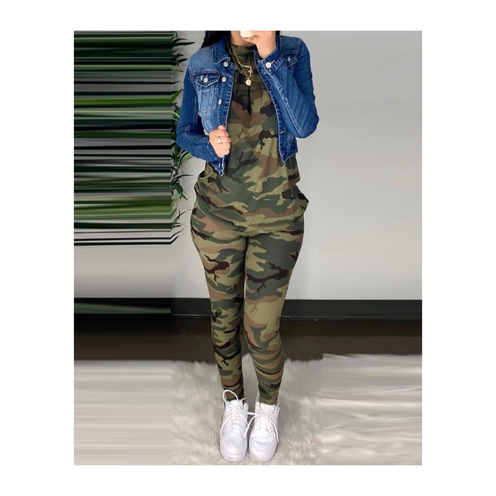 Camo Leggings Set