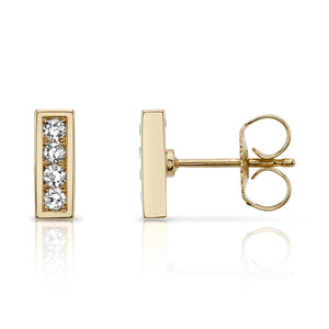 PAVE MONET STUDS | NLE19-2