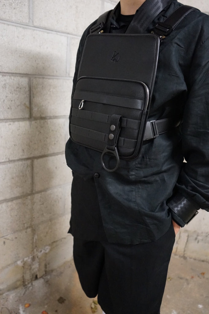 Vegan Leather Chest Rig