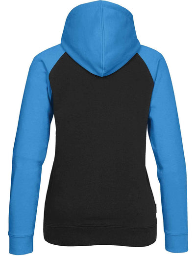 Black/Electric Blue - Back