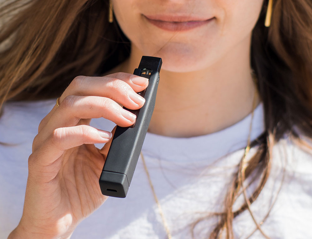 Juul charger case woman
