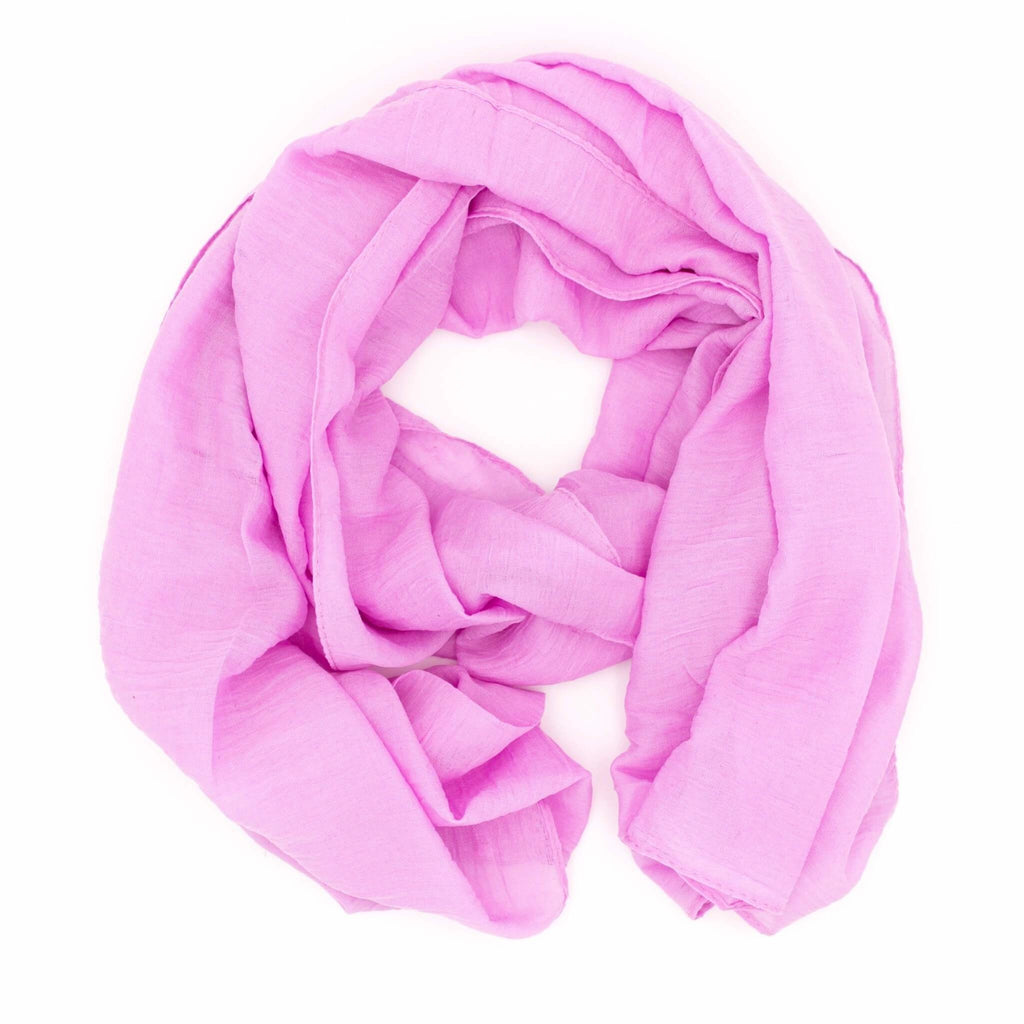 Damen Knitted Scarf | ★ WILD CAT ★ Orchidee - RIEMTEX