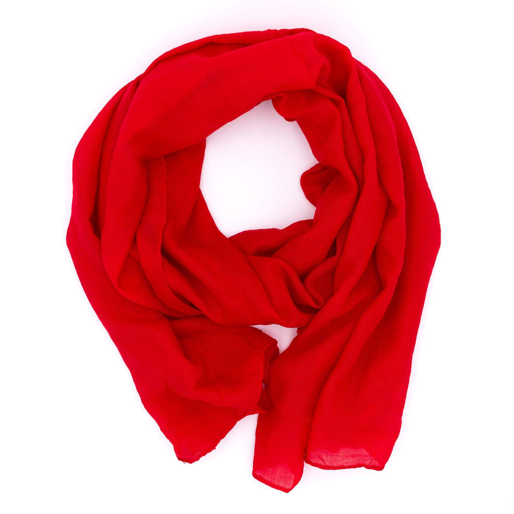 Damen Knitted Scarf | ★ WILD CAT ★ Rot - RIEMTEX