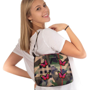 TANKLANE Stylisches Hobo Bag in Tarnlook - RIEMTEX