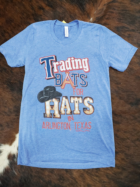 Trading Bats for Hats Tee
