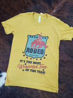 Most wonderful time Rodeo Tee
