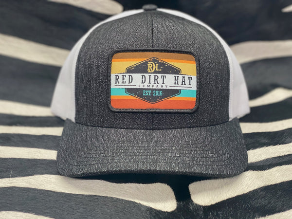 Striped patch Red Dirt Hat Co