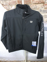 Men's Cinch Silver/Black Jacket