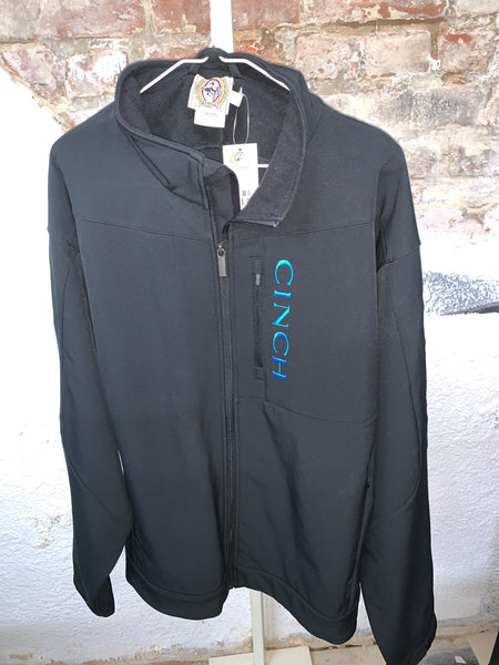 Men's Cinch Black/Turquoise XXL
