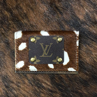 Two Pocket Hide and Louis Vuitton Axis Card Holder