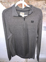 Men's Cinch Pullover -Black/Grey