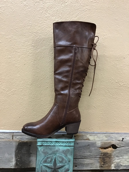 Tall Ash Brown Boots