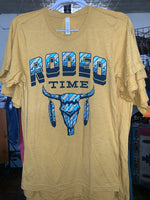 Rodeo Time (mustard)