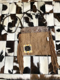 LV Python and Cowhide Crossbody