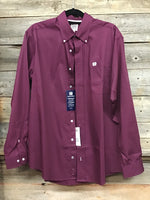 Cinch Maroon Button Up