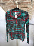 Cinch Maroon & Turquoise Pullover
