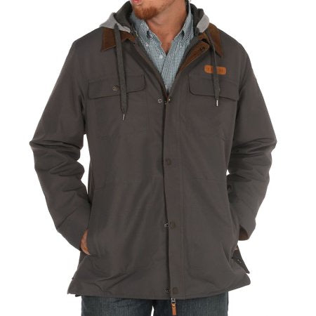 Men's Cinch Charcoal Grey Jacket