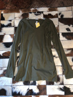 Olive Green - Long Sleeve