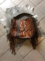 Axis, Louis Vuitton and Fringe Tote Purse