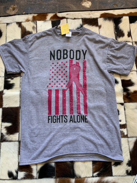 Nobody Fights Alone Tee