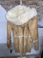 Beige Fur Coat