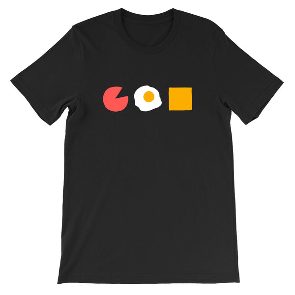 Three Ingredients: Pork Roll Egg and Cheese T-Shirt