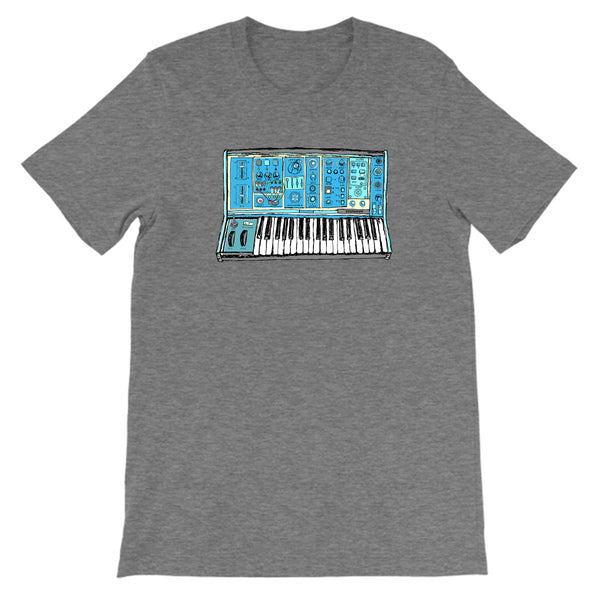 Synthesizer Sketch T-Shirt