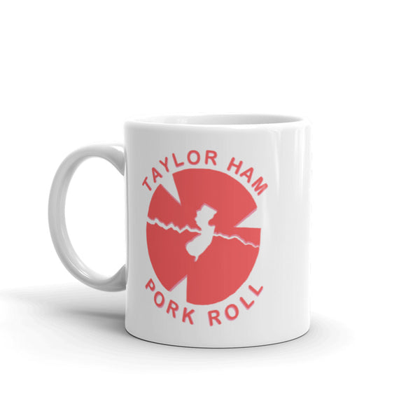 Coffee Mug-Taylor Ham or Pork Roll: A State Divided
