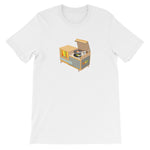WAX Old School Turntable Console T-Shirt