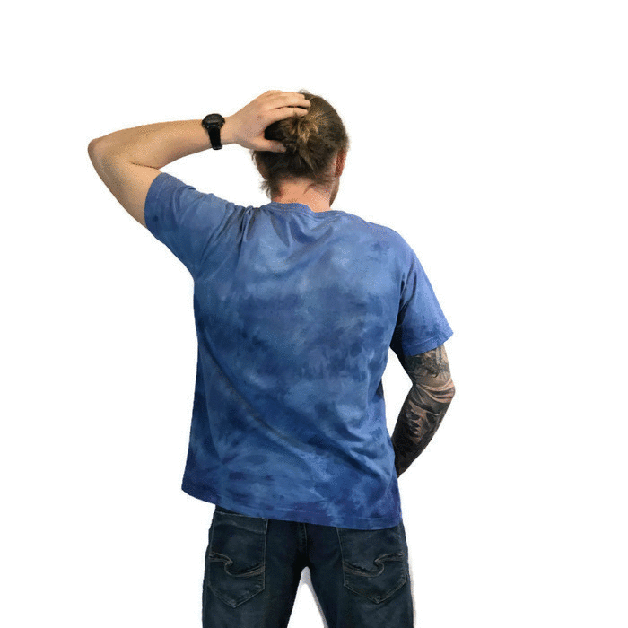 Short Sleeve Hand Dyed Unisex Tee