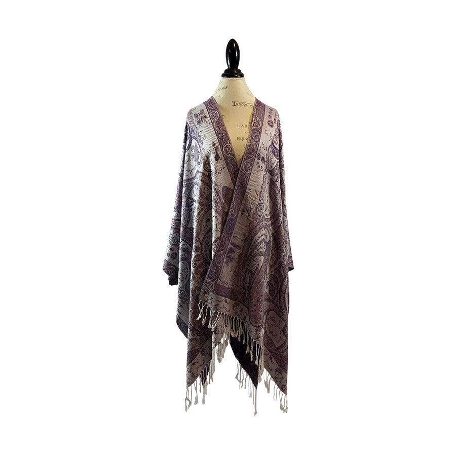 Frosted Amethyst Kimono