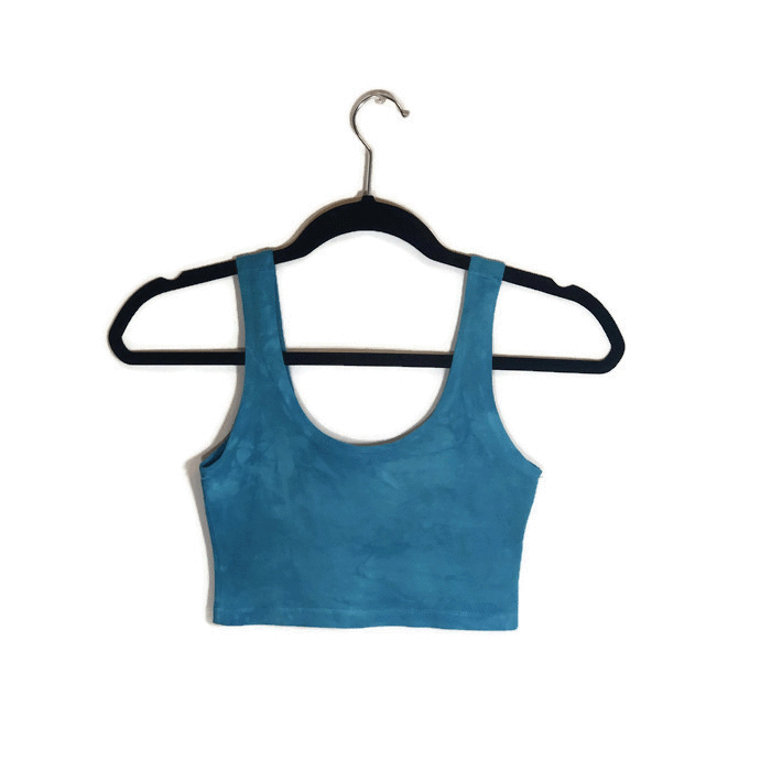 Blue Kyanite Crop Top